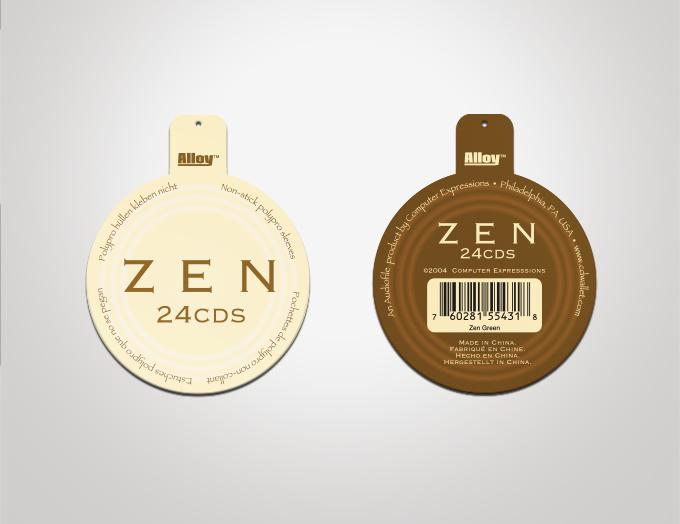 Pfizer Product Logos CD Cases Hangtags   MI...